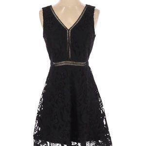 🌸2/$32🌸 NWT Black Swan Black Lace Dress, Size S